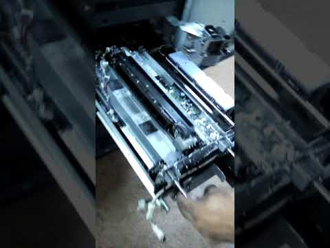 Konica Minolta bizhub PRO 951 Replacing The Drum unit and developer unit