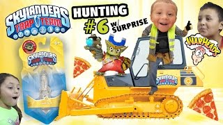 Rebel Lob Goblin Light Rocket, Bulldozers & Warheads (Skylanders Trap Team Hunting #6 w/ Surprise)