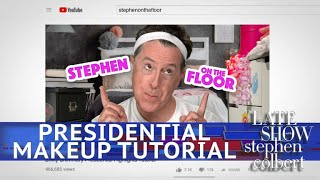 Stephen Gives A Presidential Makeup Tutorial - Video Youtube