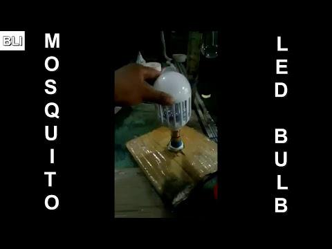 Mosquito Repellent / Killer LED Bulb