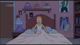 Rick a Morty - Sněhová koule CZ