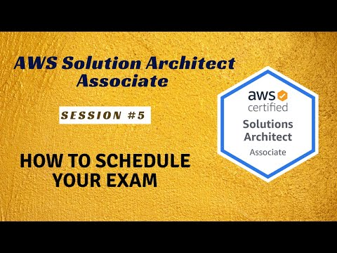 AWS Certified Solution Architect | How to Schedule your Exam?