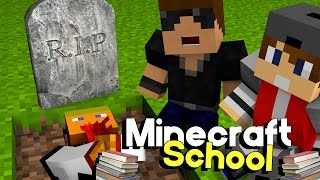 The Funeral | Minecraft School [S3: Ep.7 Minecraft Roleplay Adventure]