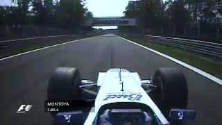The Fastest Lap in F1 History: Montoya at Monza - dooclip.me