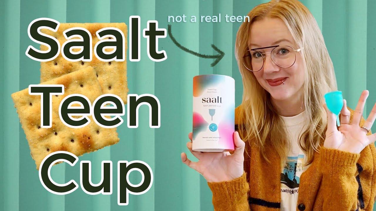 Saalt Teen Cup | Meet the Newest Starter Cup