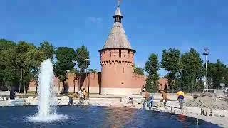 Новости Тулы: На Крестовоздвиженской площади заработал фонтан