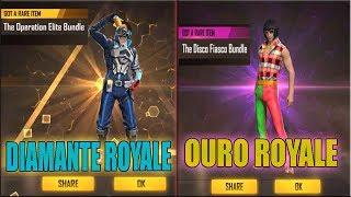 Novo Ouro Royale de Música e Novo Diamante Royale de Soldado na Nova Atualização!