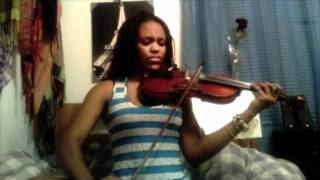 Frank Ocean Thinking About You (@DamselN_Success Cover) Lauren Peterson Violin Cover
