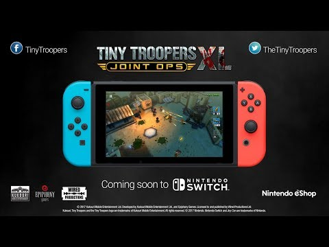 Tiny Troopers Joint Ops XL Trailer Switch [ESRB] thumbnail