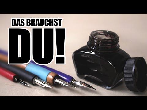 TUSCHE & FEDER - Das brauchst du! | Drawinglikeasir