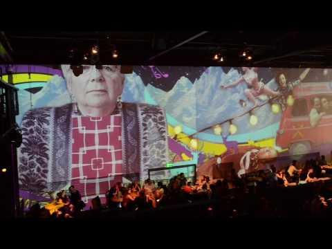 פנורמת וידאו לחברת WIX במסיבה בלקנית