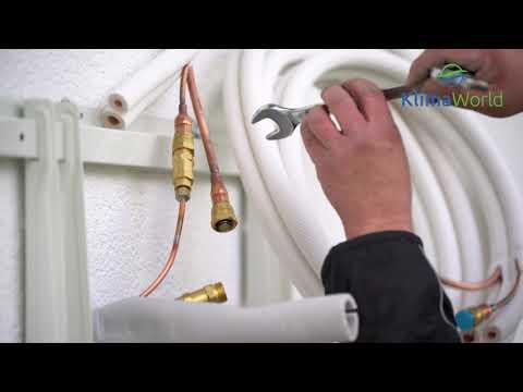 Comfee Klimaanlage Montagevideo MSAF5-12HRDN8-QE 3,5kW Quick-Connect R32