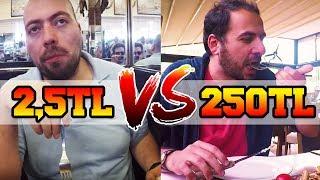 2,5 TL VS. 250 TL'lik Öğle Yemeği