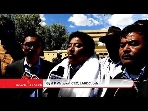 Gyal P Wangyal new CEC, LAHDC,Leh