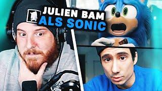 Unge REAGIERT auf Julien Bam spricht SONIC!? 🔵💨 ungespielt Reaktion