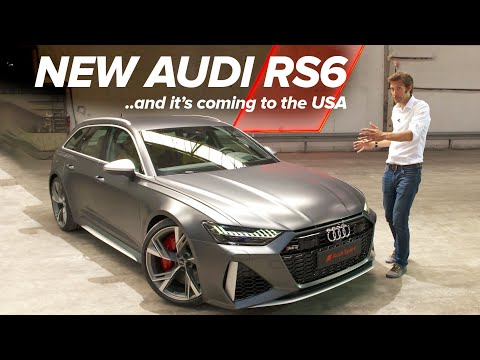 NEW Audi RS6: First Look | Carfection