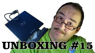 Samsung SE-506CB Portable Blu-ray Writer ~ unboxing ~ Česky ᴴᴰ