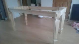 стол из массива березы. 2 ч.  подстолье.процесс изготовления стола   своими руками. https://youtu.be/YqccxGsv6BQ