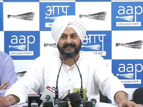 AAP Press Brief on SIT issue on 1984 Sikh Riots