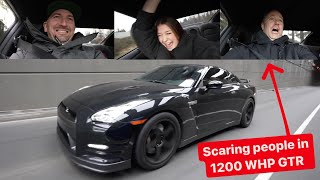 LAUNCH REACTIONS IN 1200 WHP ALPHA12 GTR!