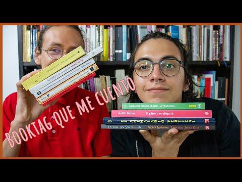 Booktag que me cuento con Santiago López