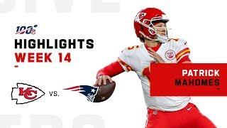 Patrick Mahomes Stuns Patriots in Foxborough | NFL 2019 Highlights