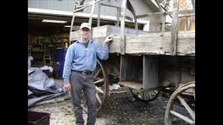 How to build and restore a Sheepwagon, Campwagon, Sheep Camp Wagon by Jim Howard