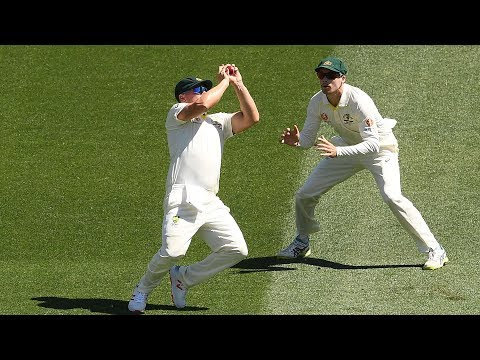 Australia's early double-strike against India