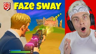 i spectated FAKE faze sway in fortnite...