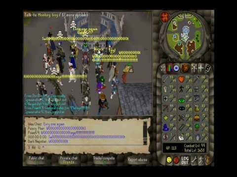 RuneScape :: 3 Hit U The First Ever Maxed Max Out Pure