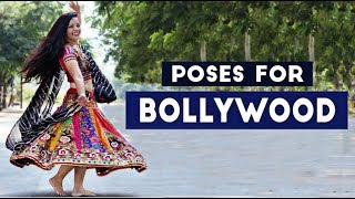 Poses For Bollywood Dance Performance
