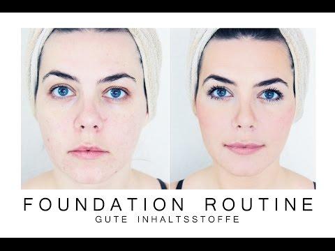 🌸 FOUNDATION ROUTINE  | Gute Inhaltsstoffe | Naturkosmetik | Every Day Make up