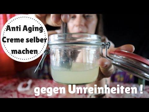 Anti Aging Gesichtscreme selber machen   natürlich   vegan   gegen unreine Haut