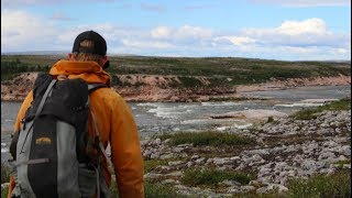 Thelon Canyon Portage! - The Arctic Odyssey Episode 8 (Hommes Du Nord 2017) Elk - Thelon Rivers