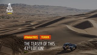 Dakar2021 - The teaser of this 43rd edition !