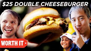 $7 Double Cheeseburger Vs. $25 Double Cheeseburger