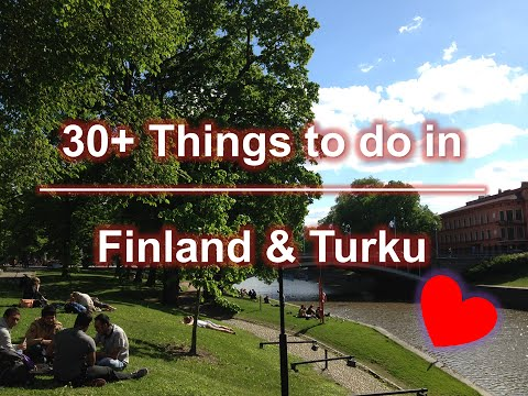 30+ Things to Do in Finland & Turku