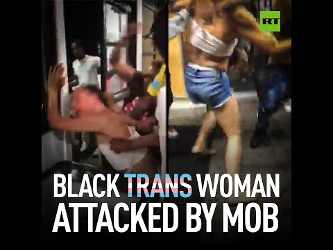 Black trans woman attacked BRUTALLY by mob in Minnesota