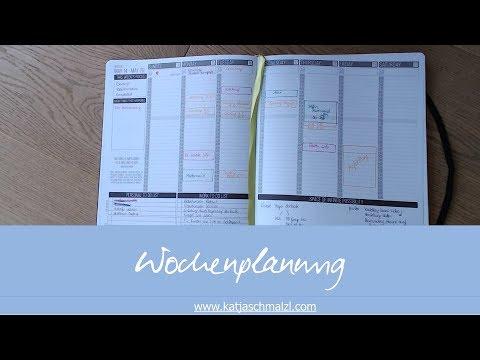 Wochenplanung - Wie kann es gehen?