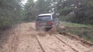 BMW X5 E53 3.0d Xdrive VS пески .MOV