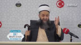28 Temmuz 2016 Tarihli Bu Haftanın Sohbeti -   Cübbeli Ahmet Hocaefendi r1