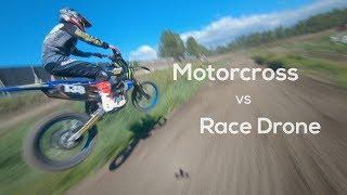 Motorcross vs Race Drone Reelsteady GO