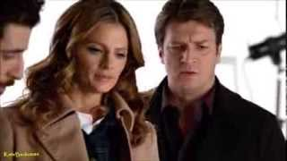 "Castle 6x14 ""Dressed To Kill"" Castle Beckett talks photographer Serge (HD)"