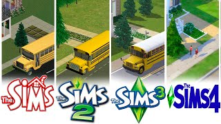 ♦ Sims 1 - Sims 2 - Sims 3 - Sims 4: School - Evolution