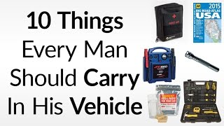 10 Things To Carry In Your Vehicle | Essential Emergency Items For Your Car Truck or Motorcycle