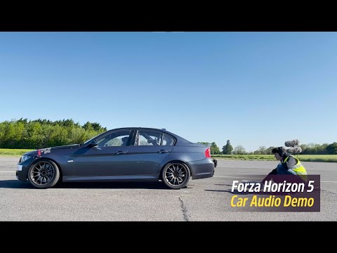 Forza Horizon 5: Car Audio Recording Behind-the-scenes de Forza Horizon 5