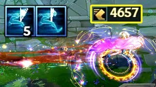 Can Zoe Outrun her Q? 4600+ MS Zoe! 6 GHOSTS at once!