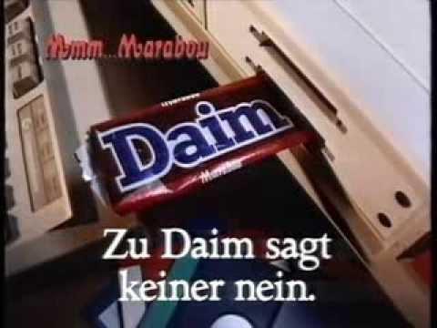 Daim Schokoriegel Werbung 1990