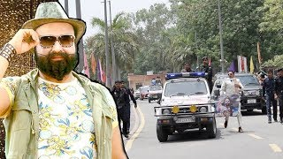 Baba Ram Rahim GRAND ENTRY & Security At MSG Movie Promotions