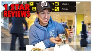 Eating At The WORST Reviewed Airport In My City (1 Star)